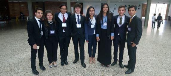 Colegio Alemán participó en el Modelo de Naciones Unidas del Colegio Andino