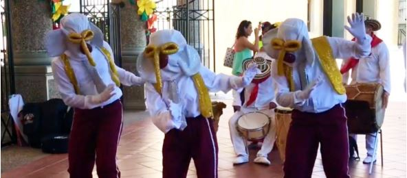 Así aprenden nuestros niños sobre las danzas tradicionales
