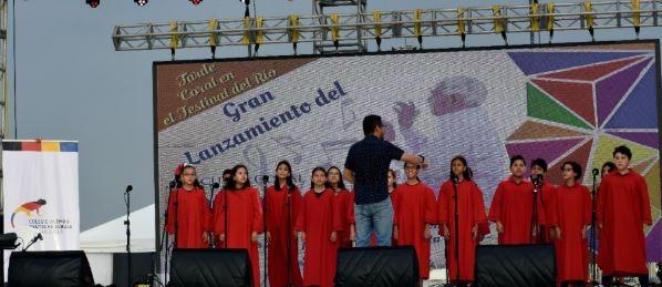 Coro Infantil, presente en el Festival del Río