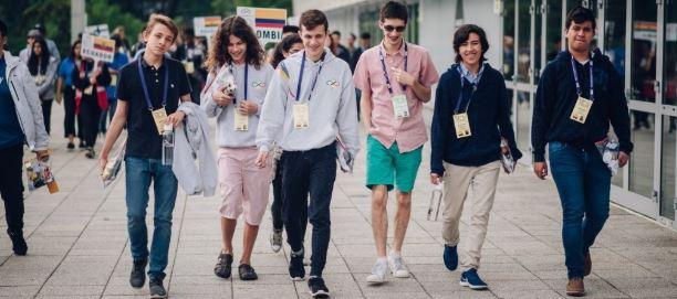 Esteban Aparicio, Mención de Honor en la Olimpiada Internacional de Matemáticas en Rumania