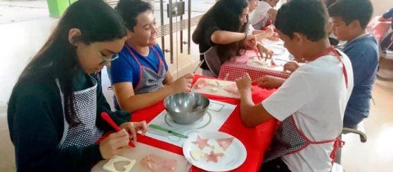 Fomentando el trabajo en equipo a través de la cocina