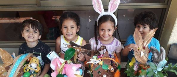 Frohe Ostern! / ¡Felices Pascuas!