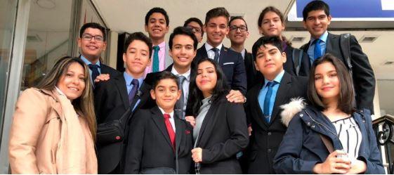 Liderazgo académico del Colegio Alemán presente en el Euromodelo Joven