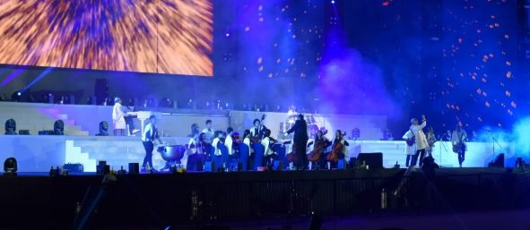 Nuestra Orquesta brilló en la inauguración de los Juegos Centroamericanos y del Caribe