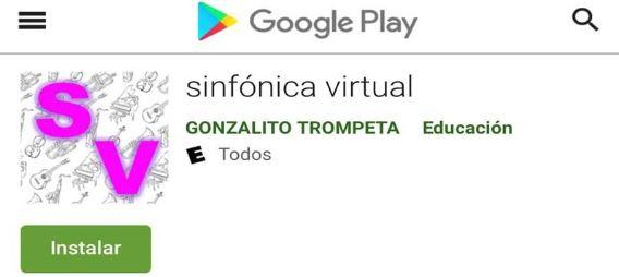 Profesor de Música de nuestro colegio creó la App Sinfónica Virtual