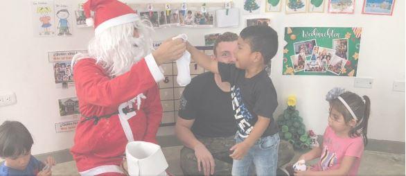 Sankt Nikolaus llegó a nuestro colegio