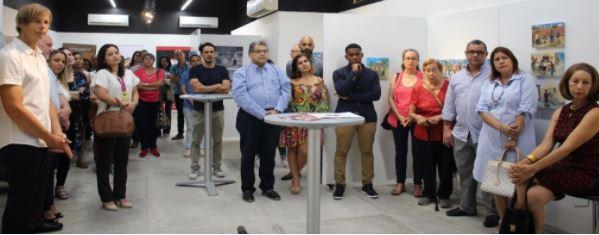 Alfredo Piñeres presentó su obra 'Mi Mundo' en nuestro colegio