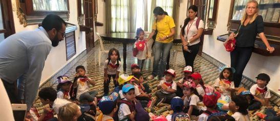 Casa Cultural 'La Perla', último destino de las salidas pedagógicas de nuestro colegio