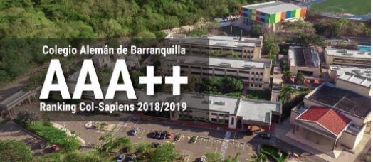 Colegio Alemán logró calificación AAA++ en Ranking Col-Sapiens