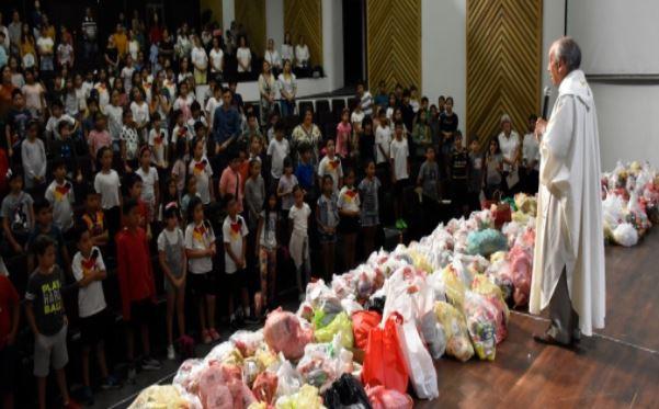 Comunidad estudiantil participó de la Misa de Acción de Gracias