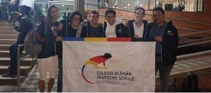 El Colegio Alemán de Barranquilla se tituló subcampeón en la XXXIX Competencia Regional de Matemáticas