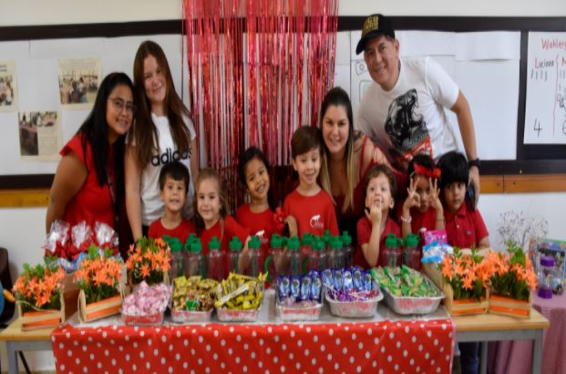 El Kindergarten celebró con diferentes actividades el Día del Amor y la Amistad