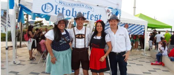 El Oktoberfest se tomó el Gran Malecón
