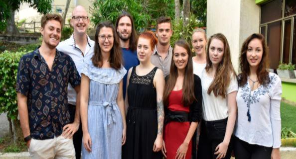 El importante rol de los practicantes alemanes en nuestro colegio