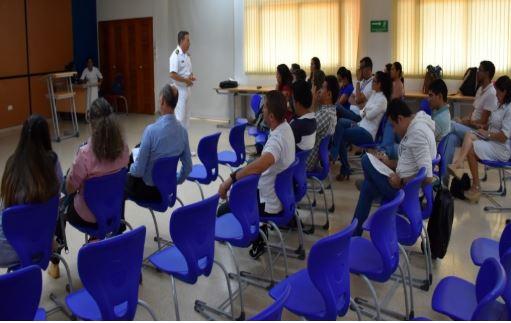 Escuela Naval 'Almirante Padilla' y nuestro colegio establecen alianza en materia de intercambio académico