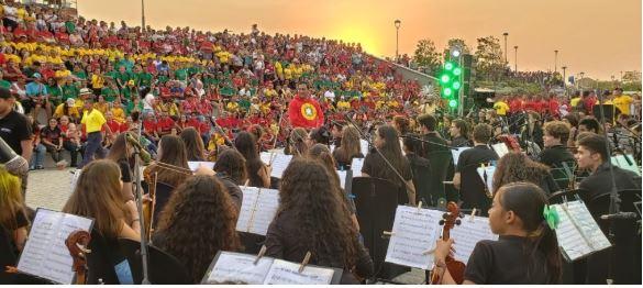 Homenaje a Barranquilla en el Gran Malecón del Río