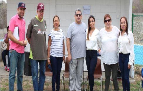 Inaugurada en nuestro colegio la cancha de béisbol 'Tomás Arrieta Gambín'