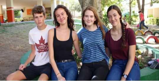 """""""La gente de Barranquilla ha sido muy amable con nosotros"""": estudiantes alemanes de Intercambio"""