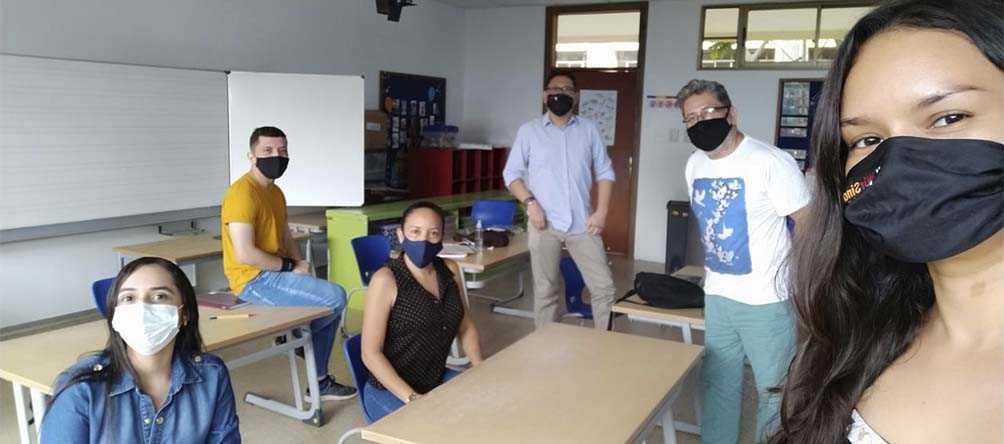 Nuestros profesores se preparan para los retos de las soluciones audiovisuales