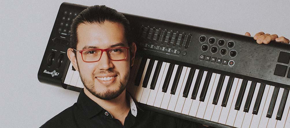 La proyección de Alberto Puentes en el mundo musical