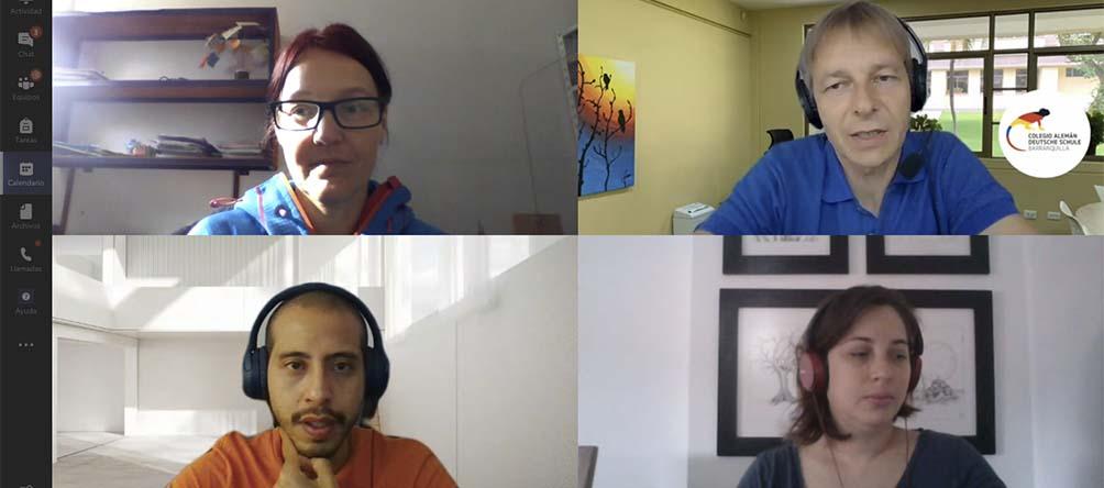 Coordinadores GIB de la Región 3 sostuvieron encuentro virtual