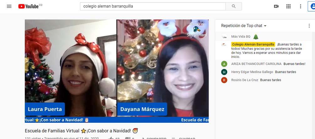 Escuela de Familias 'Con sabor a Navidad'