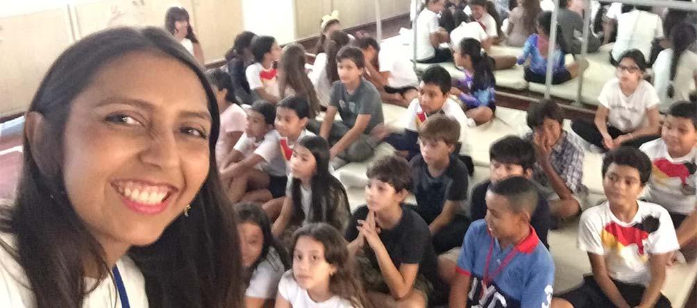 """""""Quiero que esta área se constituya en un apoyo para la formación integral de los estudiantes en términos de crecimiento personal, emocional y familiar"""": Laura Puerta (Coordinadora de Orientación Psicoeducativa)"""