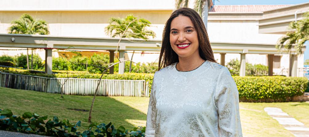 """""""Los maestros hemos sido formados para responder, adaptarnos, crear e innovar atendiendo a la realidad que vivimos"""": Lizbana Rueda (Directora de Secundaria)"""
