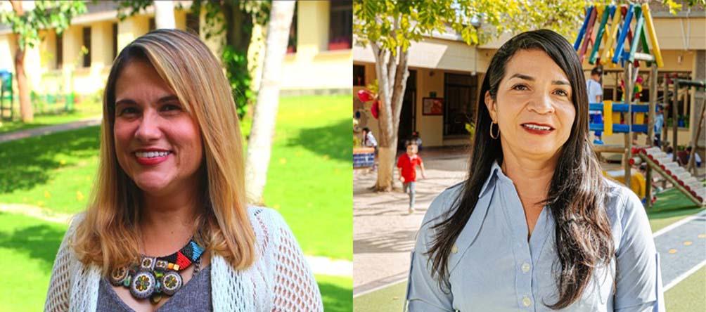 Nitza Guzmán e Iveth Gutiérrez liderarán el Kindergarten de nuestro colegio