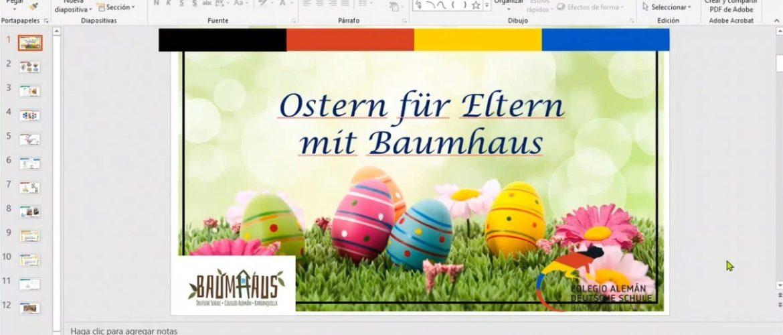 Nuestra Escuela de Familias abordó 'La Celebración de la Pascua'