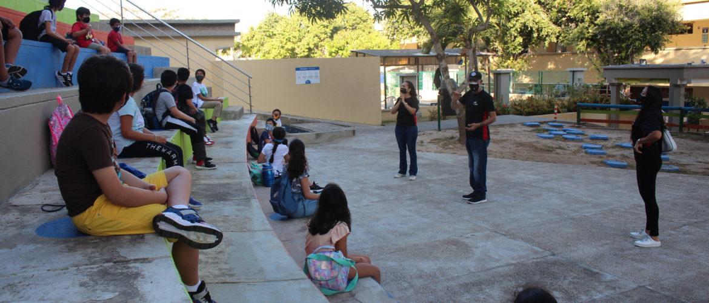 Nuestros estudiantes de Primaria se reencontraron con compañeros y docentes durante la Prueba piloto