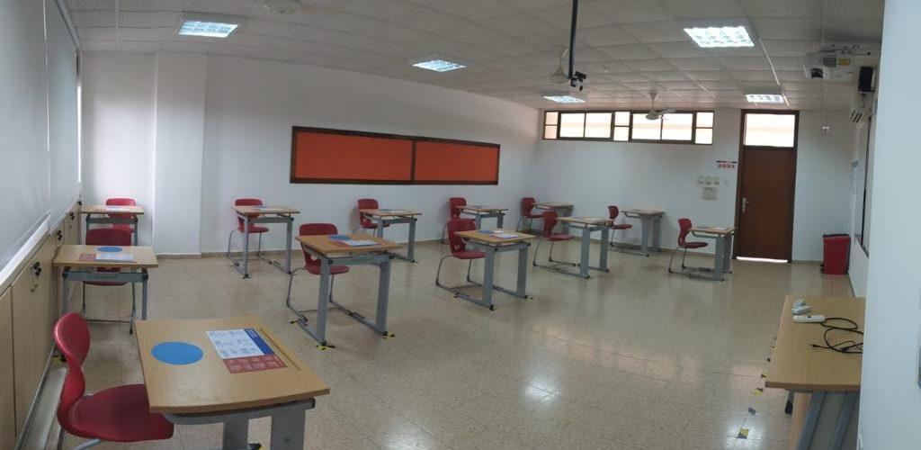 Avanza la reorganización de los salones de clases de nuestro colegio para aumentar su aforo