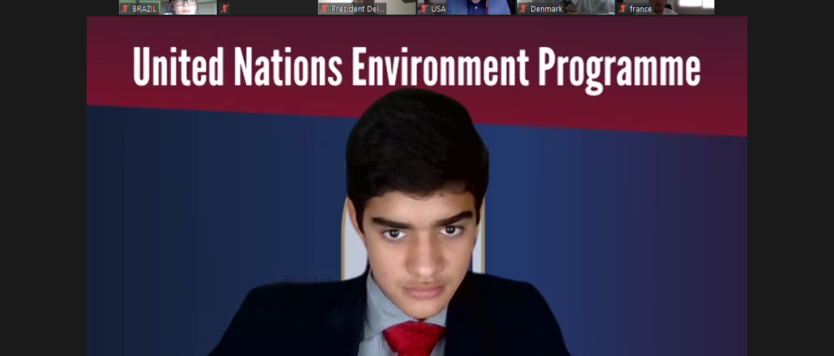 British School Model United Nations: a conference where our students' performance shined