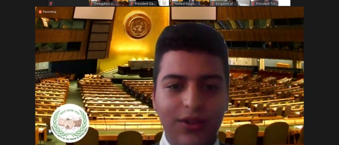 Our students excelled at Karl C. Parrish Model United Nations