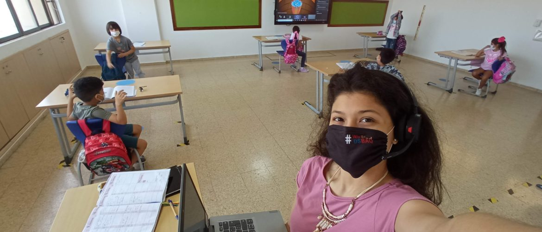 """""""Mis compañeros de trabajo me ven como un par a quien pueden acudir cuando tienen inquietudes referentes a temas tecnológicos"""": Guimel Rincón (Docente de Primaria)"""