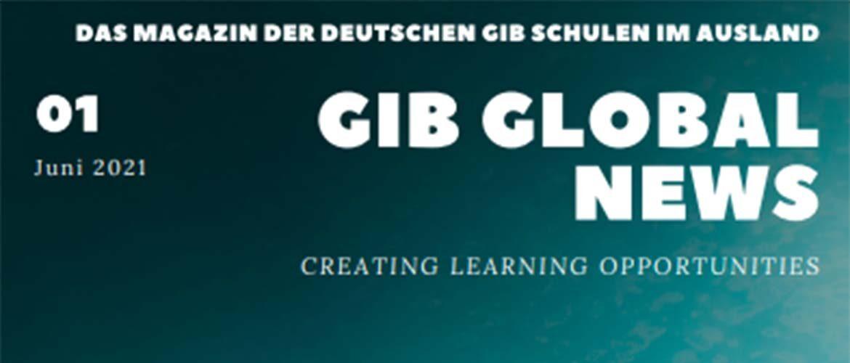 Artículos de estudiantes de nuestro colegio fueron publicados en la revista internacional GIB GLOBAL NEWS