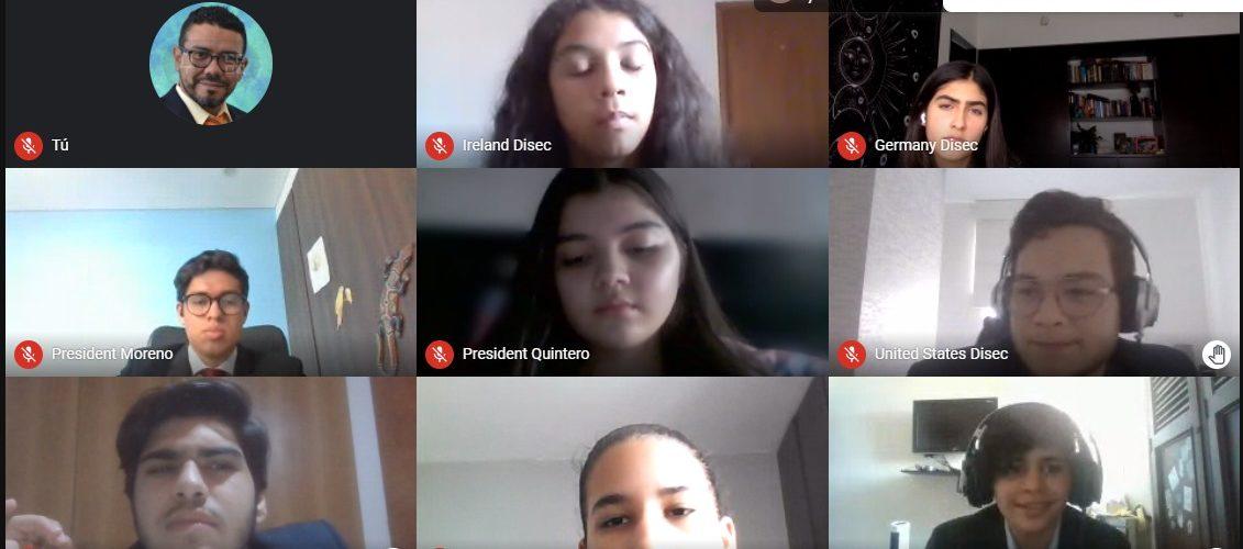 Nuestros estudiantes se destacaron en el Modelo de Naciones Unidas del American School