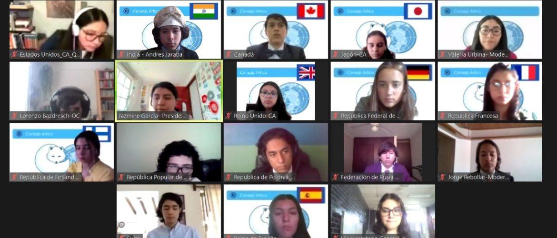 Un sobresaliente desempeño tuvieron nuestros estudiantes en el MUN del Colegio Alemán de México D.F.