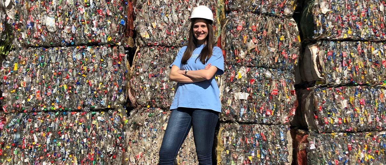 El gran compromiso de Juliana Rincón con la promoción de la cultura del reciclaje