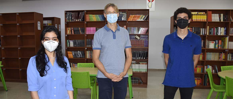 Gloria Rodríguez y Felipe Marthe aspiran al cargo de Personero estudiantil