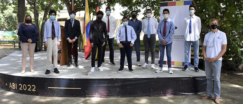 Delegación de nuestro colegio logró el reconocimiento como 'Mejor Delegación' en el Modelo de Naciones Unidas del Colegio Alemán de Medellín