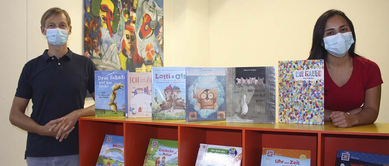 Colección de libros en alemán sobre diferentes temas fue adquirida por nuestra Biblioteca